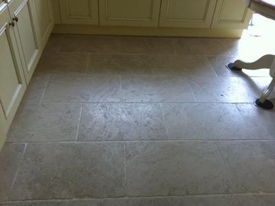travertine floor cleaner before
