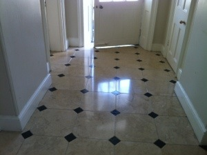 Marble floor cleaner