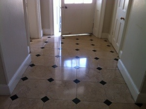 Limestone floor cleaner