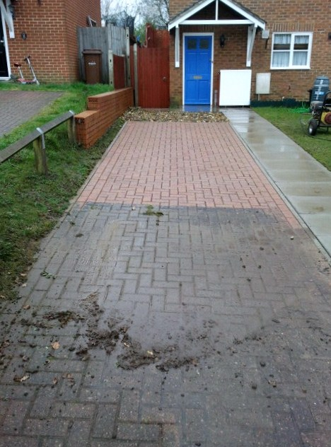 Driveway cleaning sidcup bexley dartford orpington bromley for Best way to clean driveway
