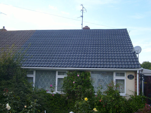 Pro Roof Cleaners After